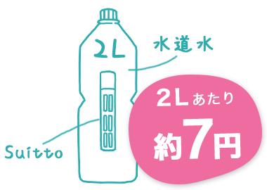 2Lあたり約7円